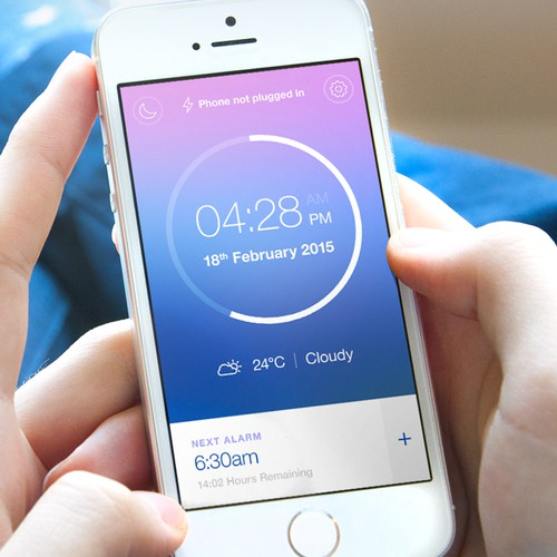 Make our Talking Alarm Clock App look amazing!