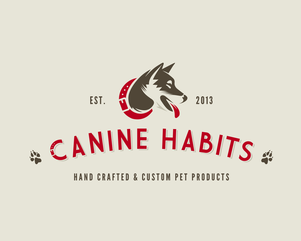 Need a retro dog logo for pet products- Canine