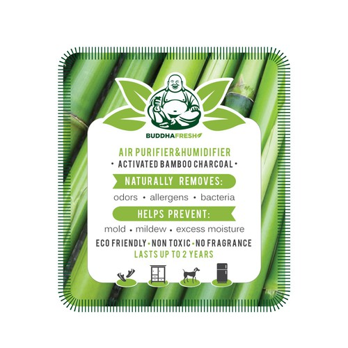 Packaging Design Eco Friendly Bamboo Charcoal Product