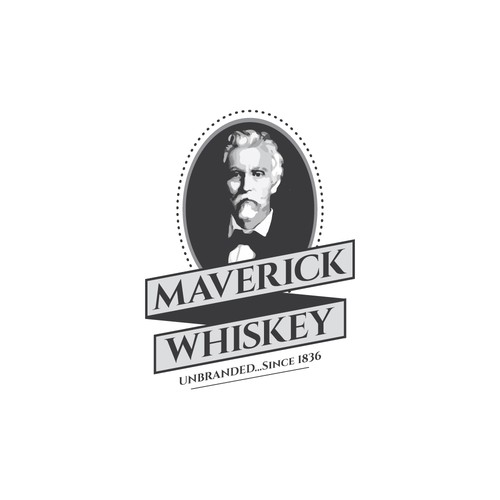 Pictorial Logo Design for Whiskey Brand