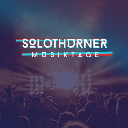 Logo concept for music festival