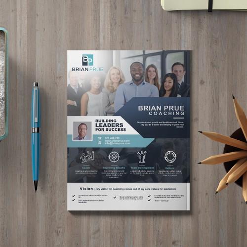 Business Consultant Flyer Design