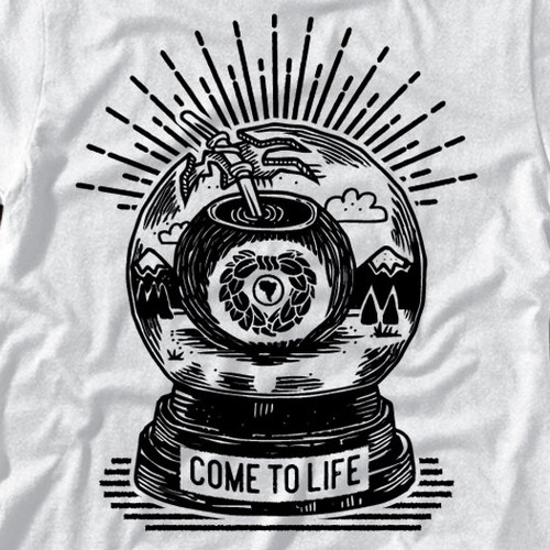 Come to Life Illustration