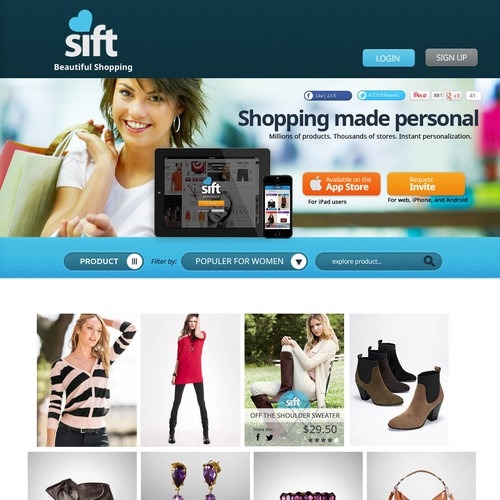 Hot Social Shopping Startup Needs a New Front Page (in time for the holidays)