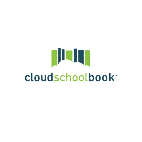 Logo Concept for Cloud School Book || Available