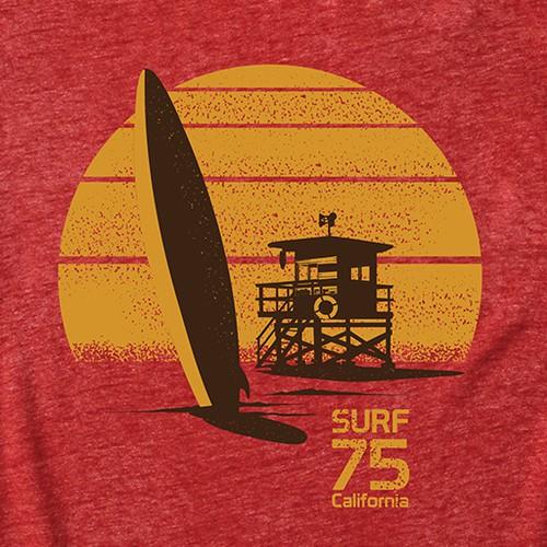 Vintage Surf Tees
