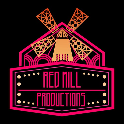 Moulin Rouge inspired logo