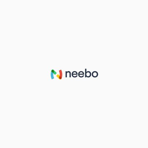 Modern logo concept for neebo
