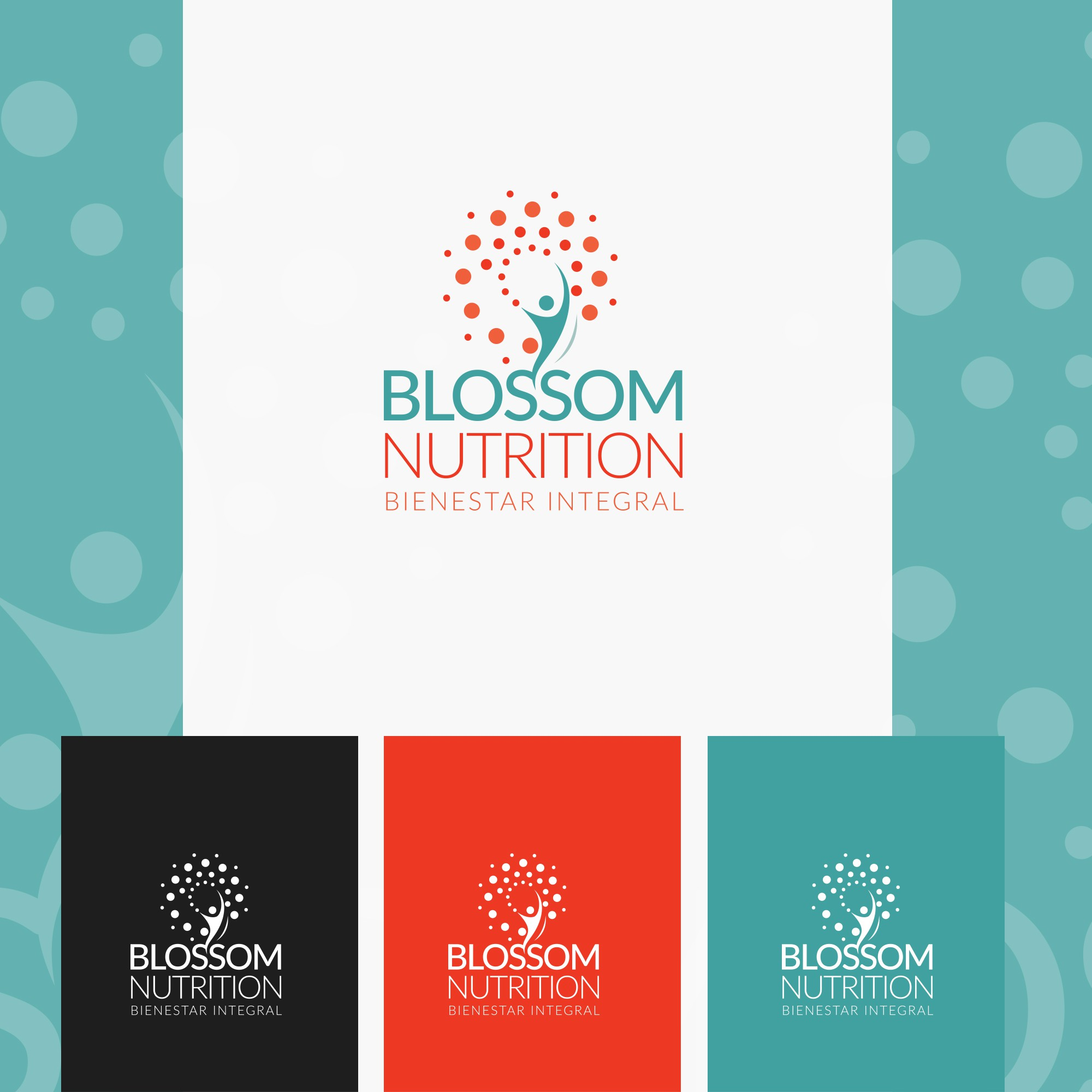 Corporate Wellness and Entrepreneur requires powerful logo to send strong and positive message.