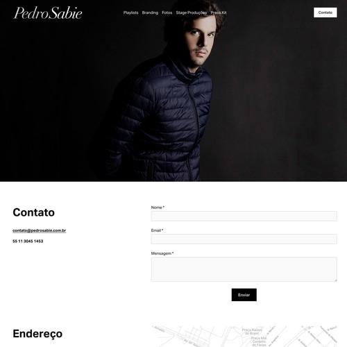 Dj and Event Producer Website
