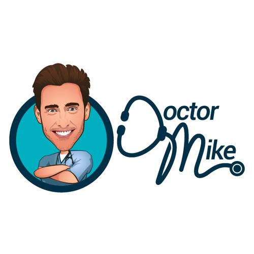 Logo for the Social Media Superstar, Doctor Mike