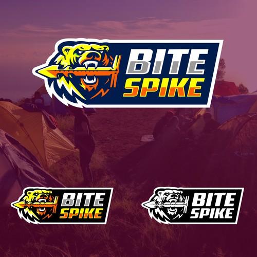 Bold logo concept of Bite Spike