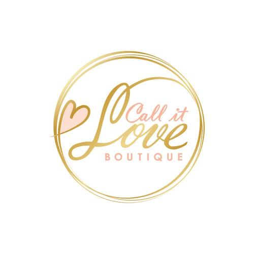 Logo for a women's online boutique