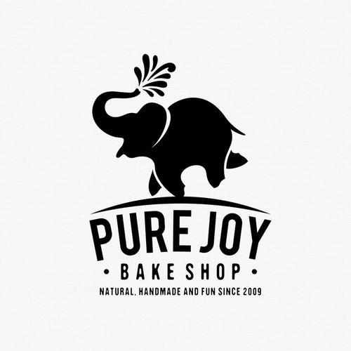 Pure Joy logo design