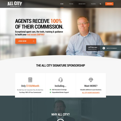 Real Estate Website Redesign