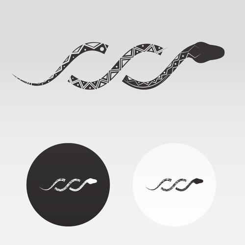 Elie Dorie Design - Snake Logo design