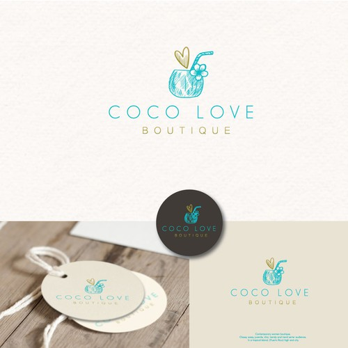 Logo For : Coco Love Boutique
