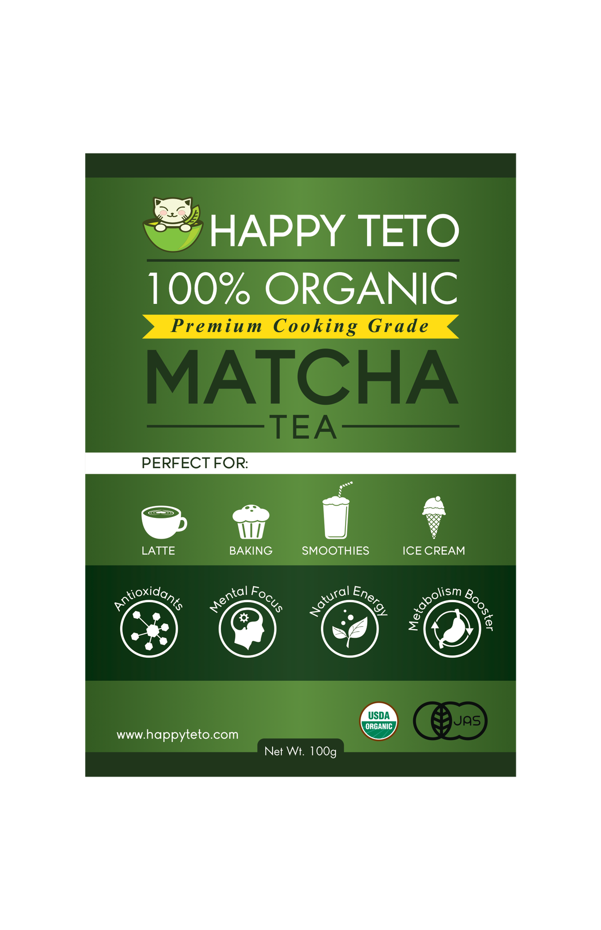 Follow-up on matcha branding