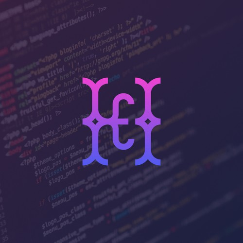 H E developer logo