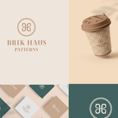 Minimal Logo design for Barik Huas patterns