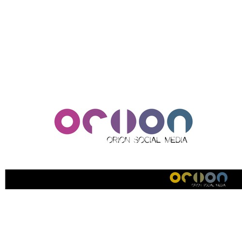 "Unique and fun logo required for ""Orion Social Media"""