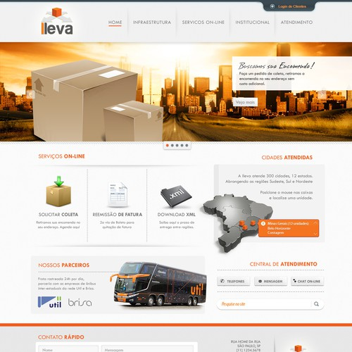 Help lleva with a new website design
