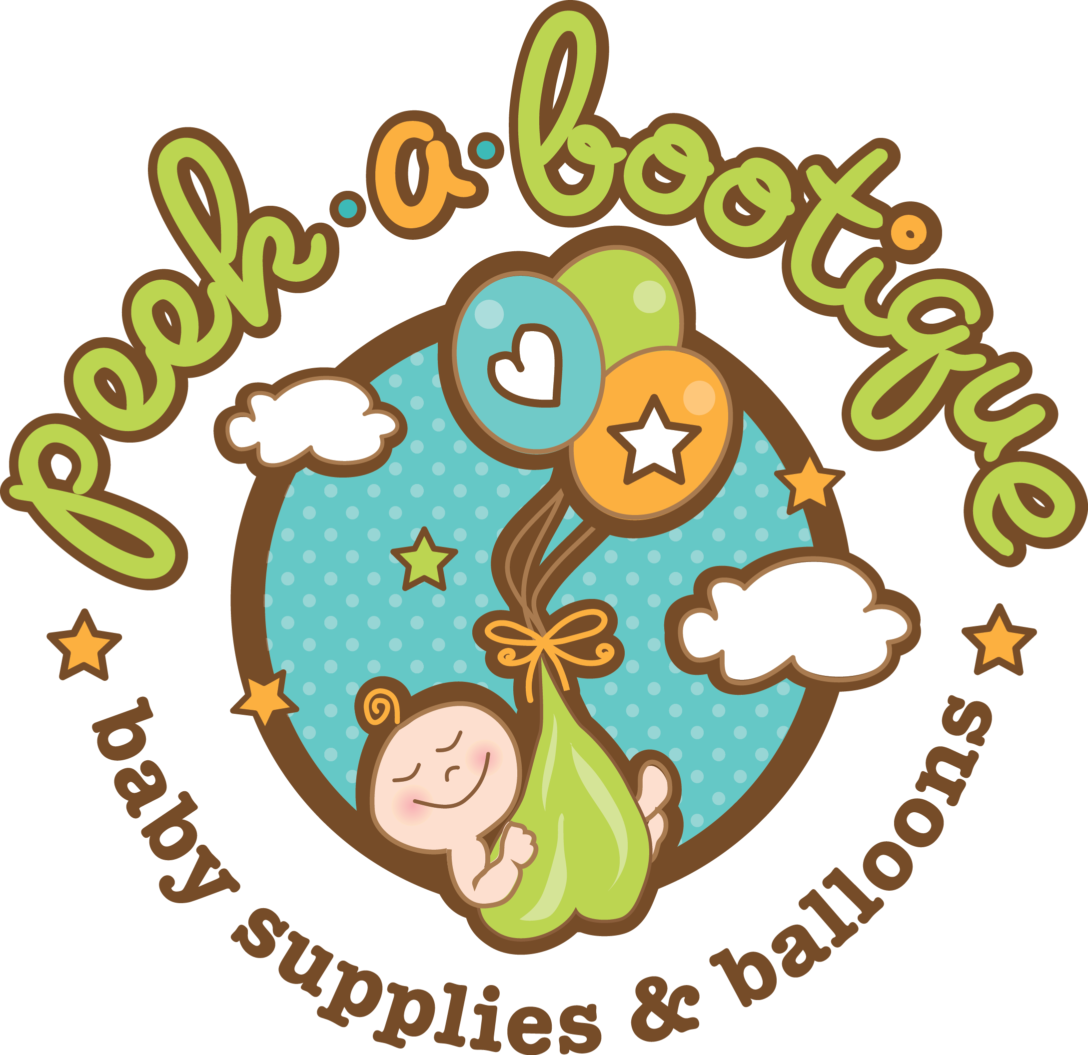 Help Peek-A-Bootique with a new logo