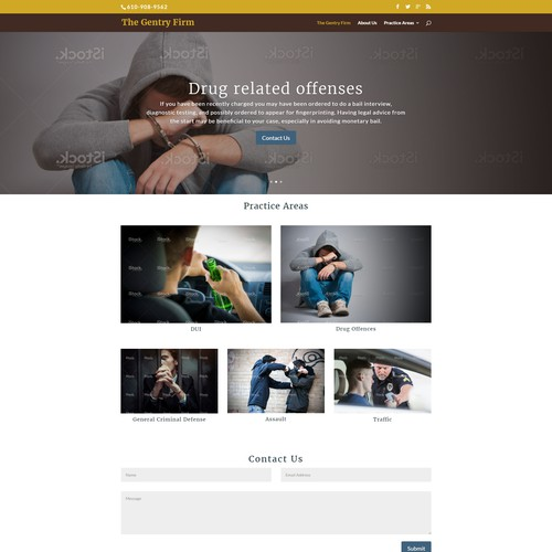 Wordpress Website for a Lawyer