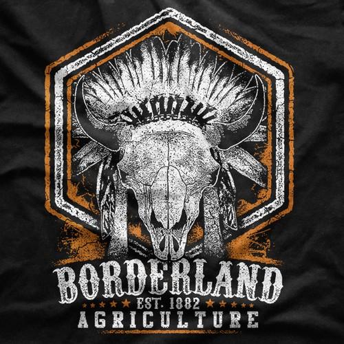 Bison Agriculture T-Shirt