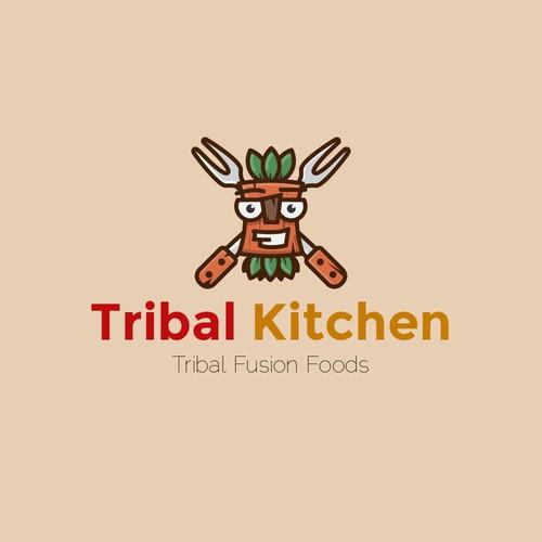 Logo for tribal kitchen
