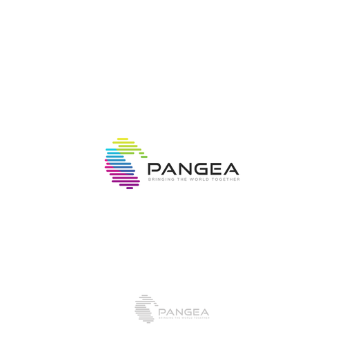 Abstract logo for Pangea