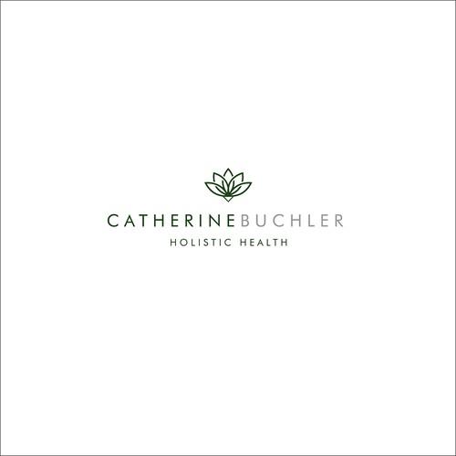 Logo concept for holistic health practitioner