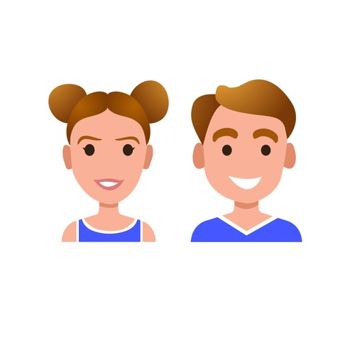 High School Sports Player Avatar