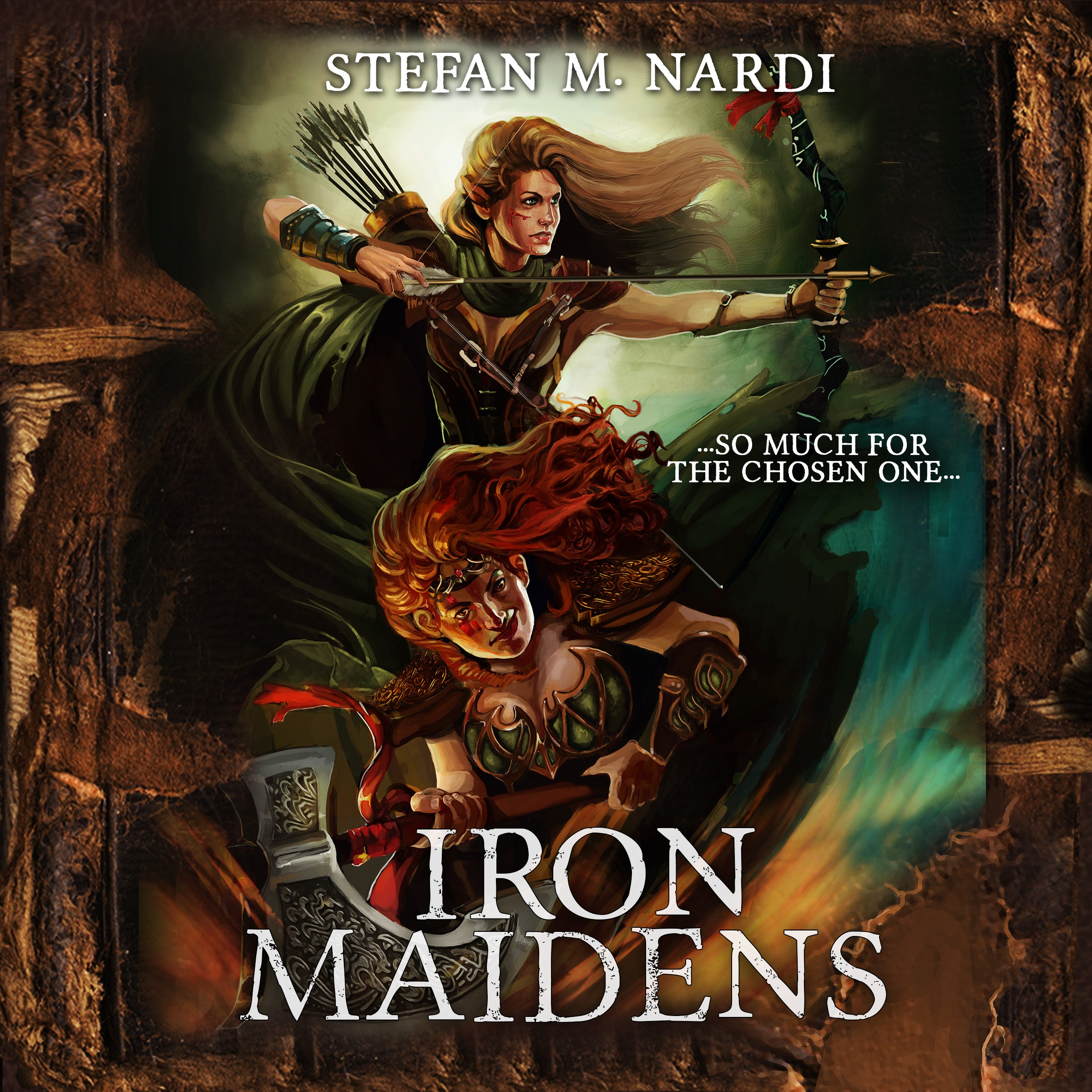 Iron Maidens - Epic Fantasy Book Cover