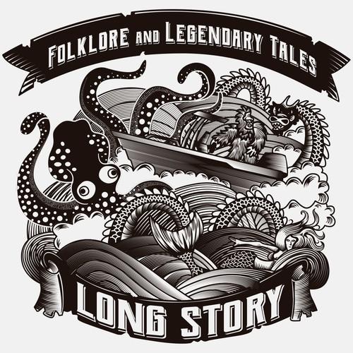 Long Story Illustration