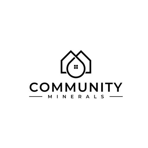 Minimal logo for Community Minerals