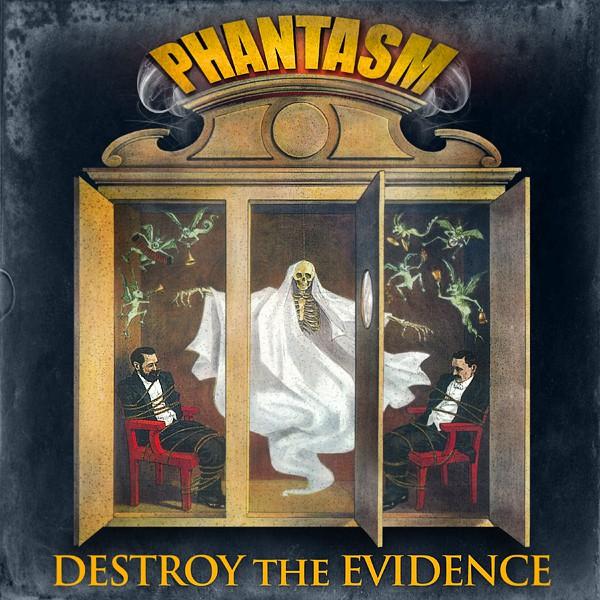 Modify 1800s magic art for Destroy The Evidence album, Phantasm