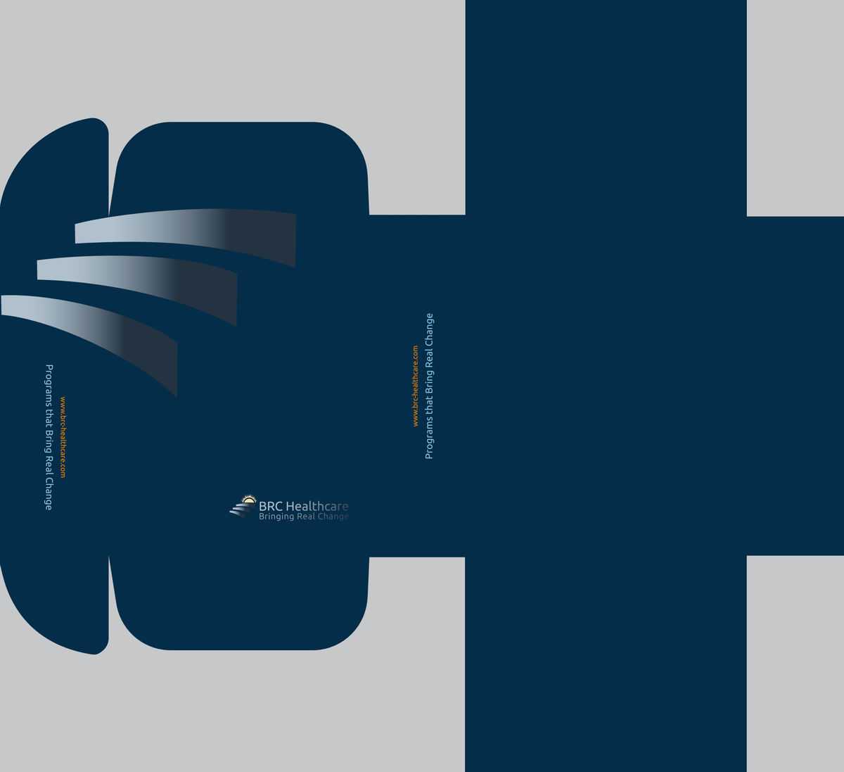 Packaging design for BRC Healthcare