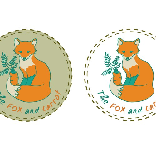 logo for The FOX and carrot