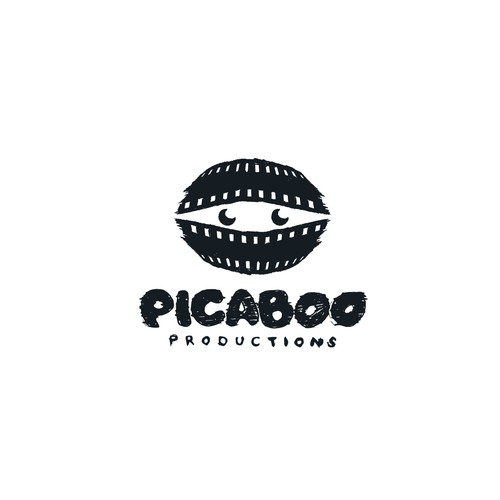Playful logo for Picaboo Production