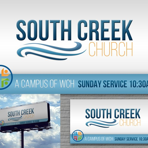 South Creek Church Sign