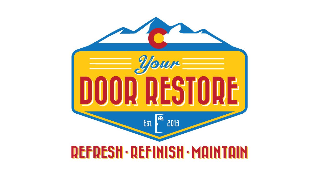 "Exploding Family-Business needs logo/brand ASAP for ""Your Door Restore"""