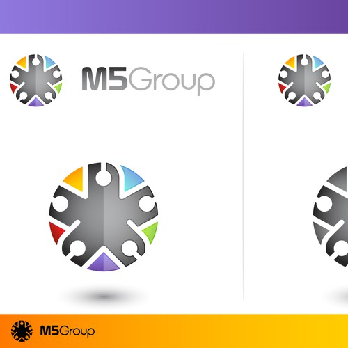 Create the next logo for m5group