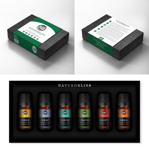 NaturoBliss CBD Packaging