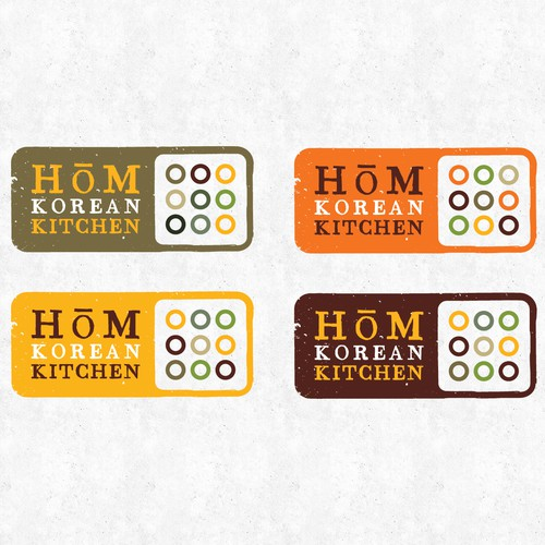 HOM Korean Kitchen Logo