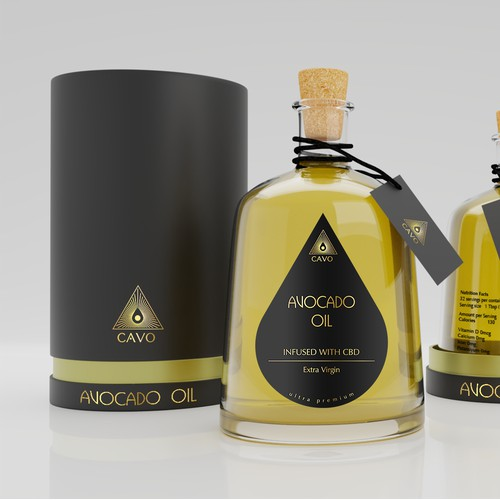 Avocado Oil design winner