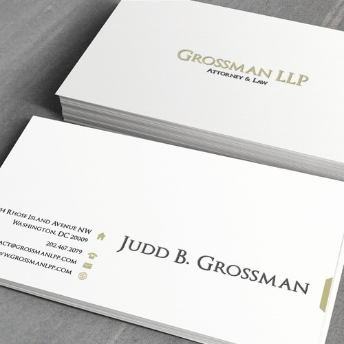 Help Grossman LLP with a new stationery