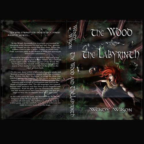 "Book Cover ""The Wood and the Labyrinth"""