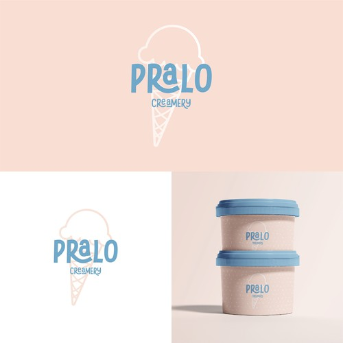 Logo proposal for Pralo