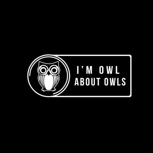 Owl stiker design